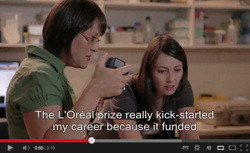LOreal screen capture
